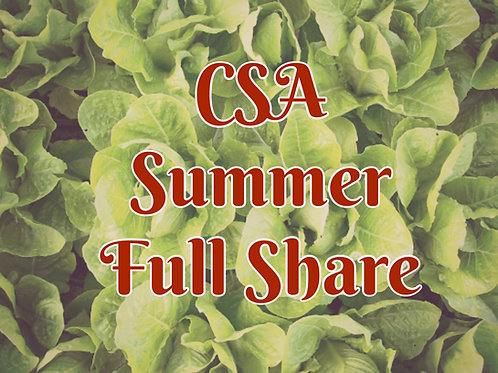 Summer FULL Share