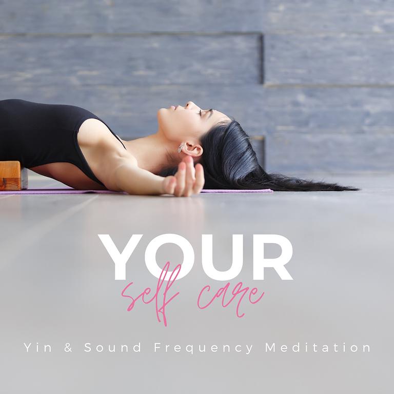 Yin Yoga and Sound Meditation - October Event