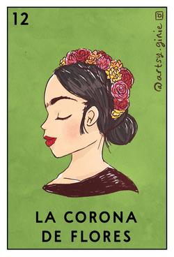 (Loteria) La Corona de Flores_Gina Rattanakone