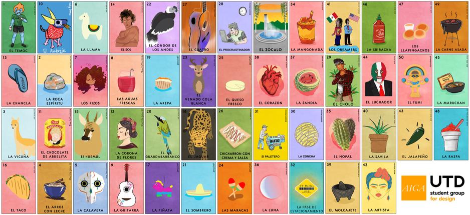 Loteria Set FULL (48 designs)