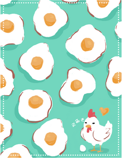 Chicken Sleeping_Gina Rattanakone