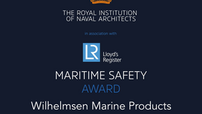 RINA - Lloyd's Register Maritime Safety Award!