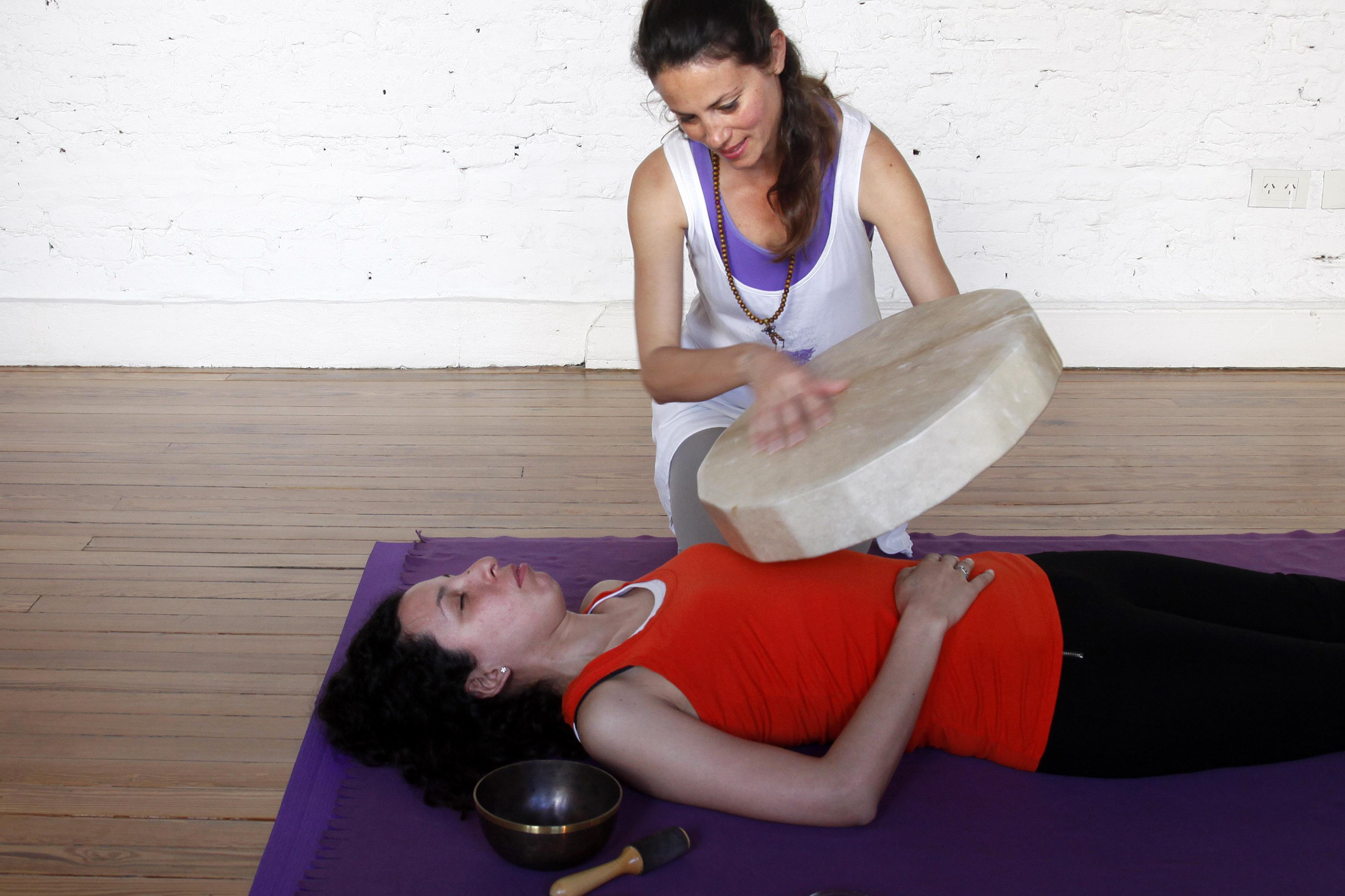 Masajes sonoros, relajación