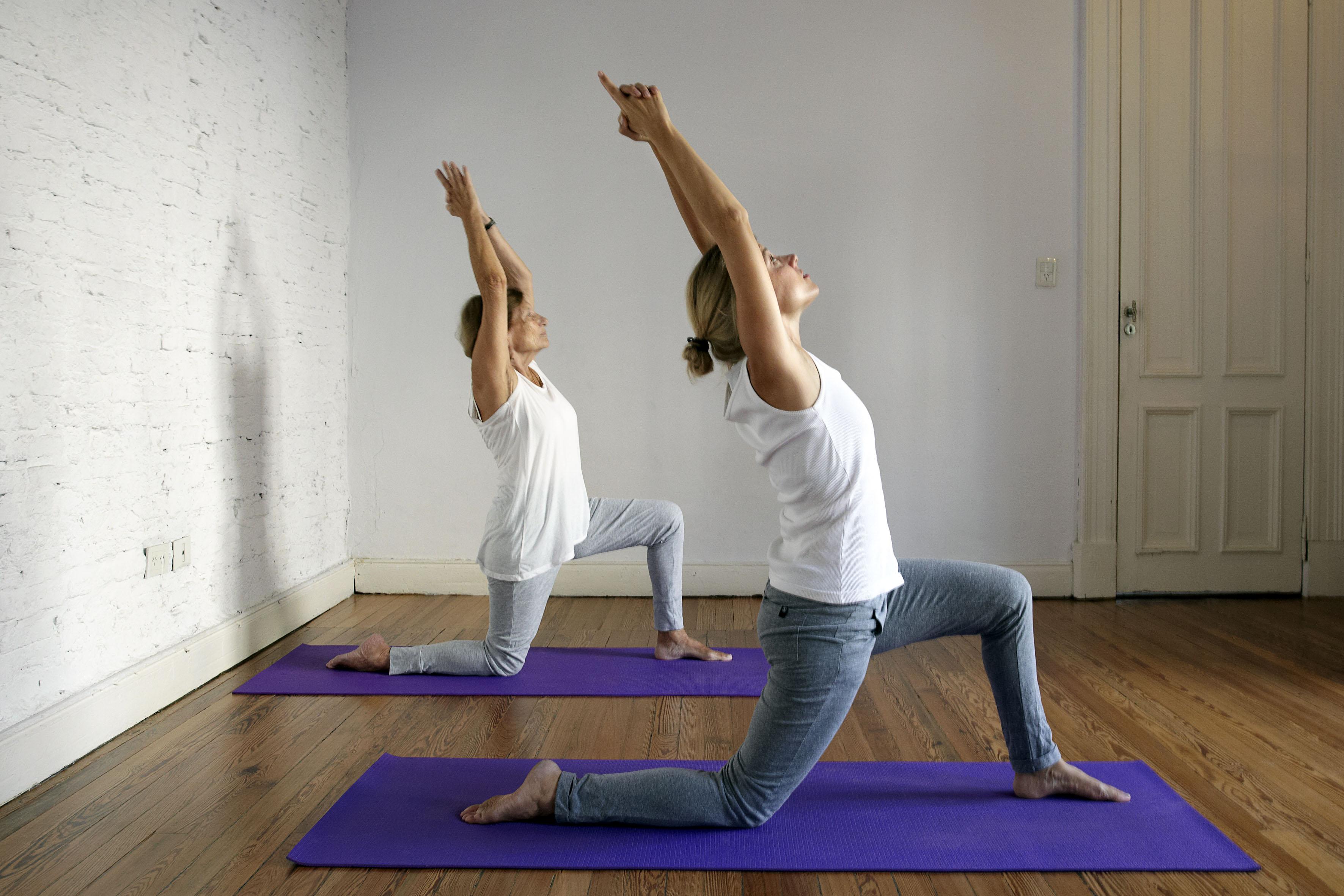 Hatha Yoga en grupo reducido
