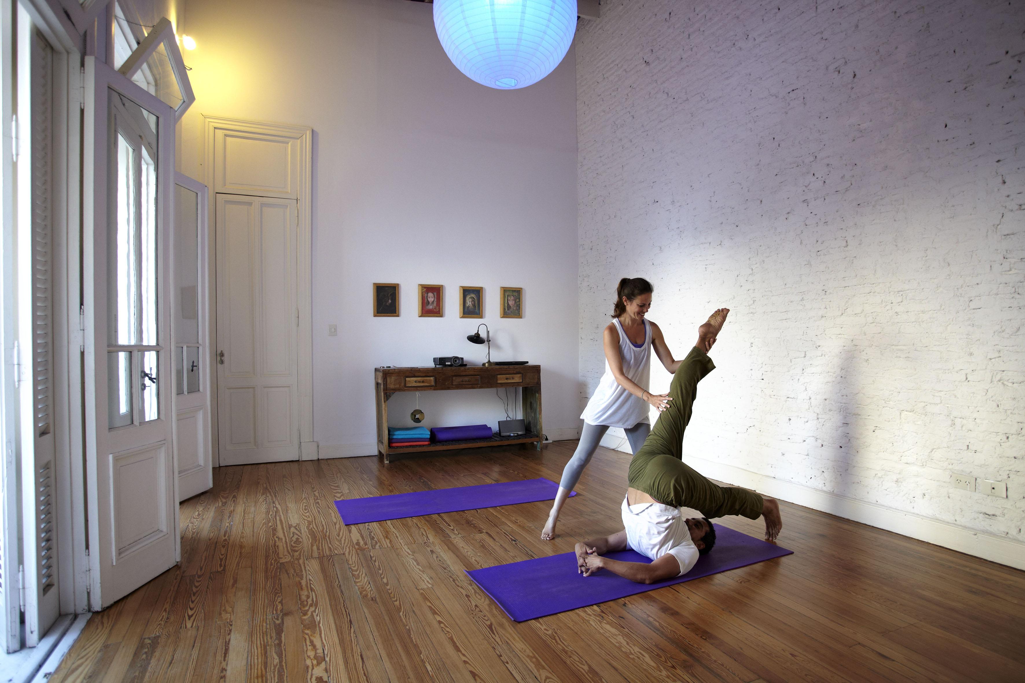 Hatha Yoga en San telmo