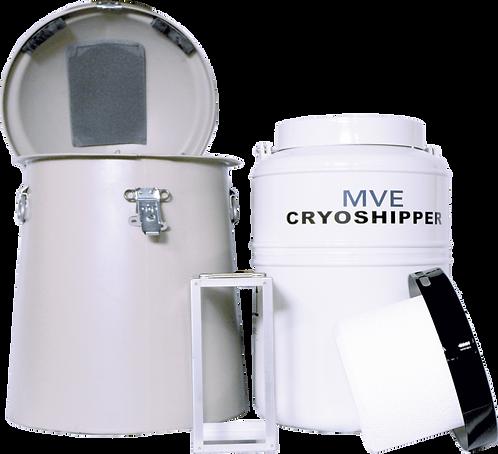 Cryoshipper c/ Rack para Bolsas de Sangue