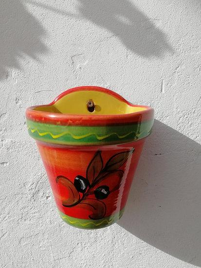 Wall Hanging Planter -Aceituna Roja