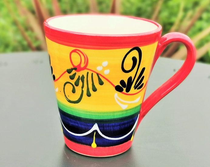 Set of 2 Mugs -Rameado Naranja