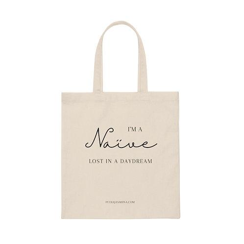 """Naïve"" Canvas Tote Bag"