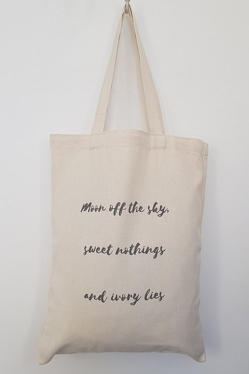MAN OF HIS WORD Tote