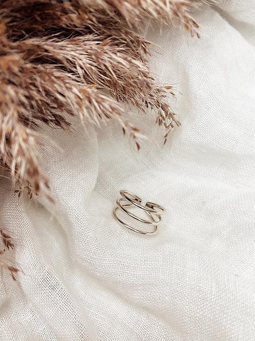 Triple plain ring