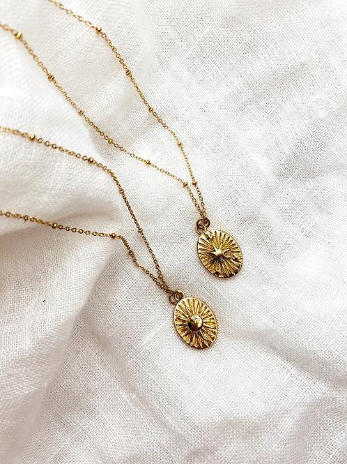 Gold Starry Sky Necklace