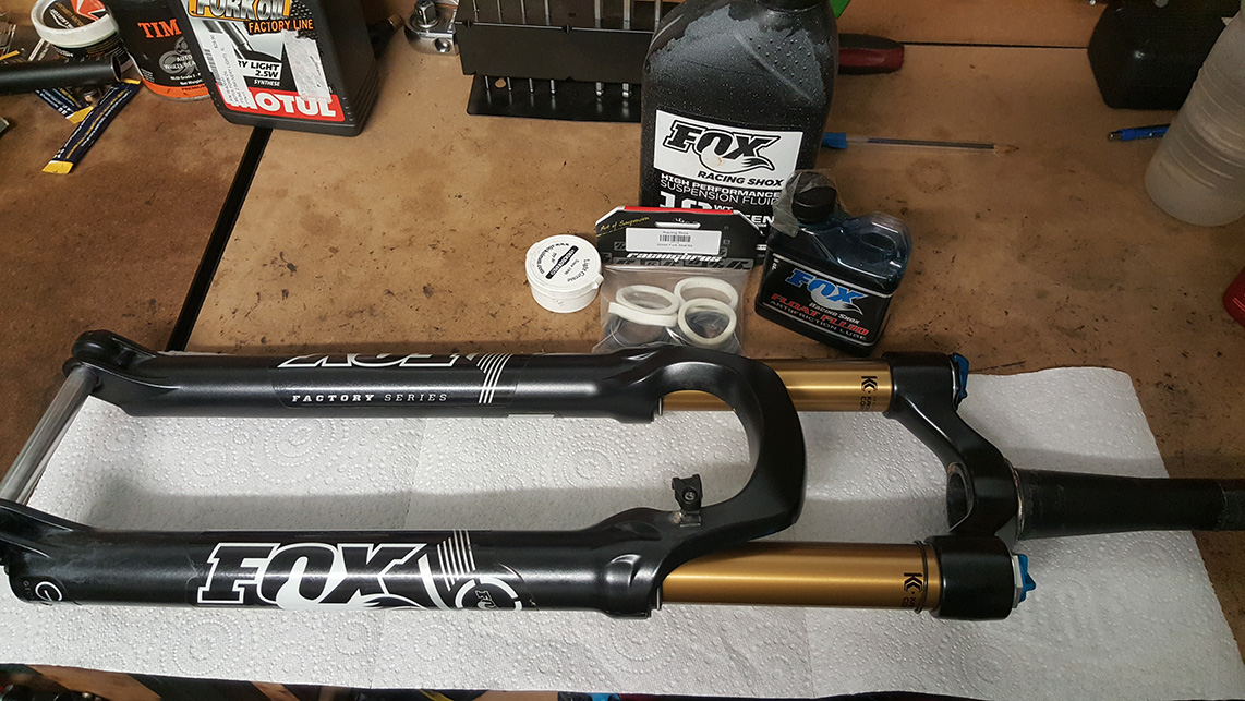 Fox Float Fork Service