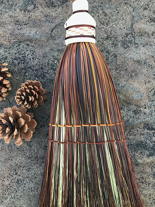 Hickory Nuts Handcrafted Broom