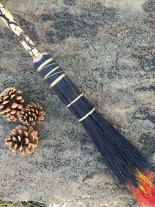 Lightning Handle Wizard's Broom