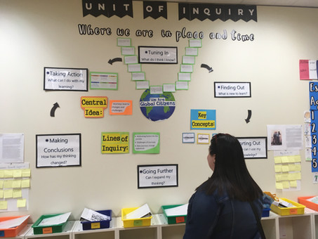Essential Elements in the PYP