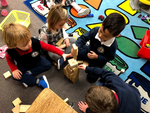 Play is the primary driver for inquiry - The PYP learner in the early years.