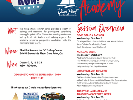 News from the Dana Point Chamber of Commerce