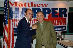 Mayor Harper & U.S. Rep. Rohrabacher