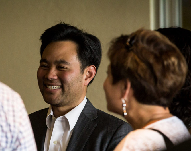 Kuo Announces Candidacy