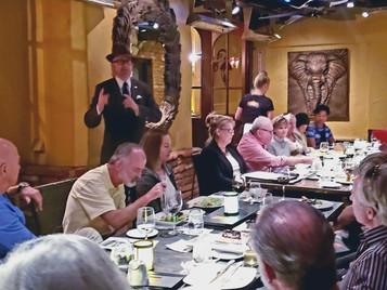 Harper Speaks in Laguna Beach