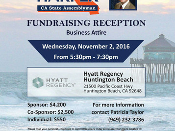 Join Us for a Fundraising Reception!