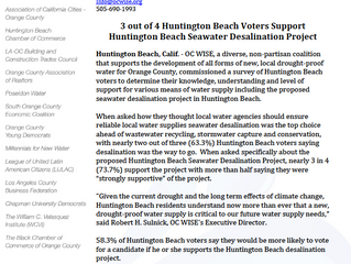 HB Voters Support Desal!