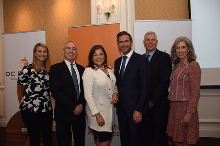 OC Forum Luncheon Programs, Orange County, CA, Hon. Loretta Sancez, Justin Wallin, Jena Jensen, Kally Pijl, Dan Schnurr