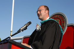 Mayor Harper in the Community