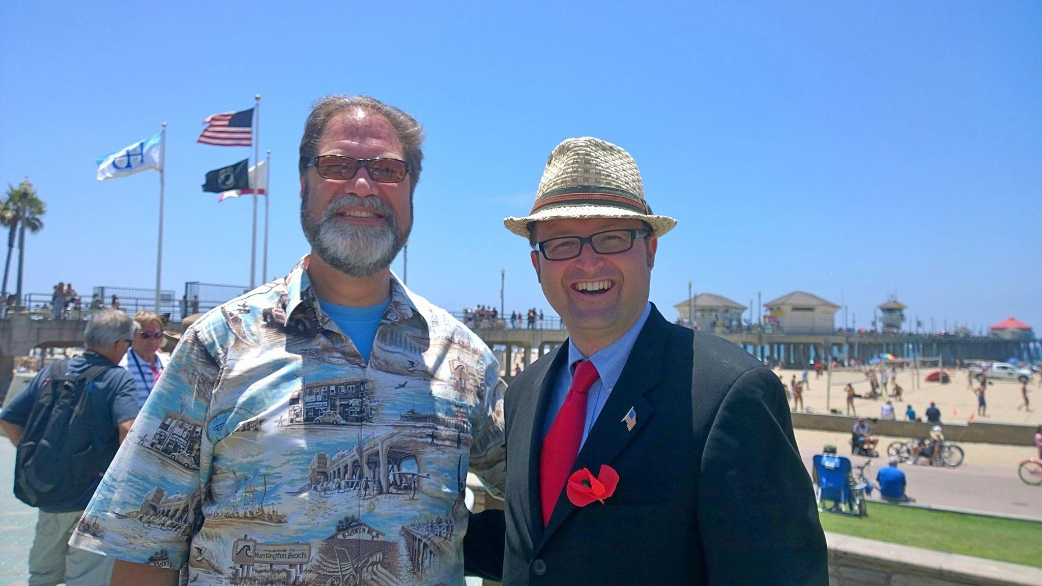 Mayor Harper & OC Supervisor Moorlac