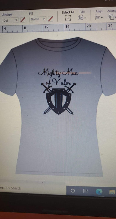 Mighty Man of Valor T-Shirt