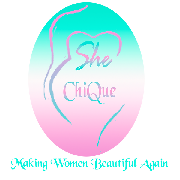 She Chique Silouette Logo with slogan Tr