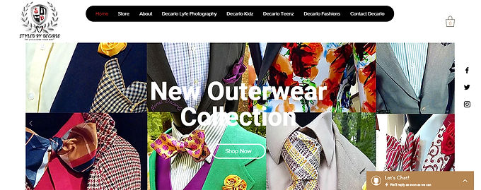 Webpage or Website Design for your Brand