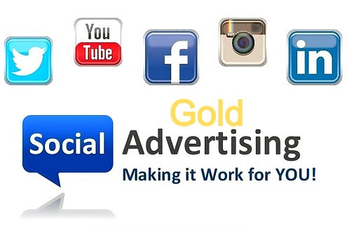 Social Media Advertising Gold Monthly Plan