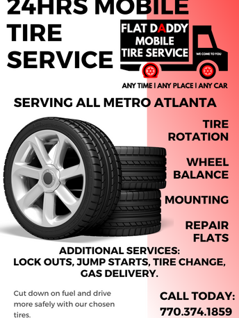 Flat Daddy 24hrs Mobile Tire Service