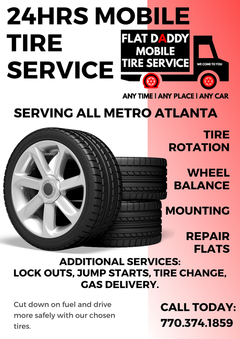 Flat Daddy 24hrs Mobile Tire Service 10-