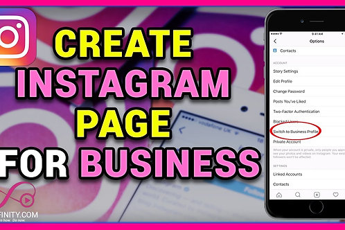 Create Instagram Business Page