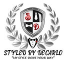 Styled_By_Decarlo_Logo_Slogan_White_BG.j