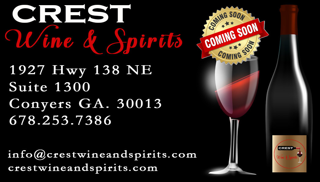 Crest Wine & Spirit Basic Business Card