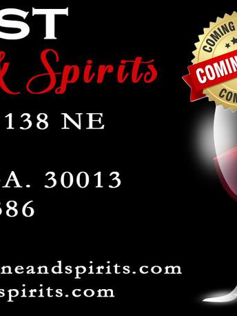 Crest Wine & Spirit Business Card