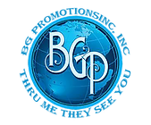 BG Promotions Inc Logo thru me they see you