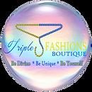 TripleJ Fashions Logo op2 Pearl Transpar