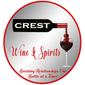 Crest Wine and Spirits Logo Grey BK w_Tagline PNG Transparency.png