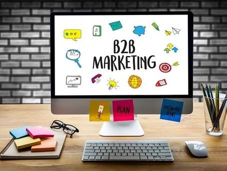 Social Media Marketing For B2B Brands👆🏼