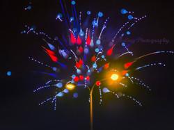 One-shot creative firework pic