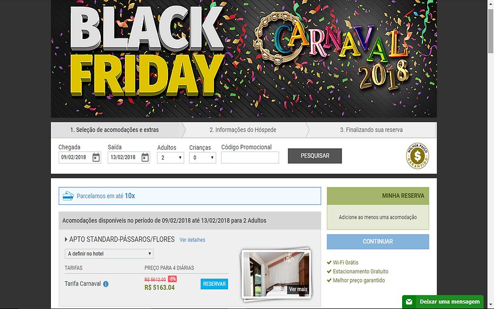 Case hotelaria - Black Friday - Timer