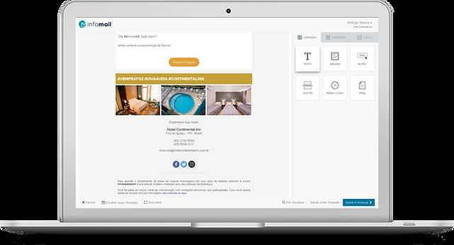 InfoMail - CRM, mala direta e email marketing para hoteis