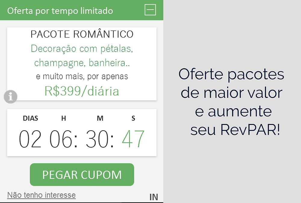 Campanhas hotel TIMER técnica para aumentar o RevPAR