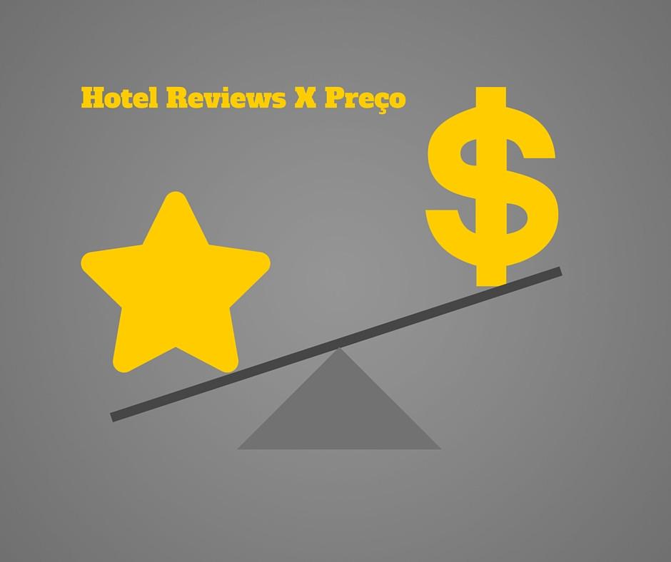Quanto seu hotel pode aumentar em preço com melhores avaliações?