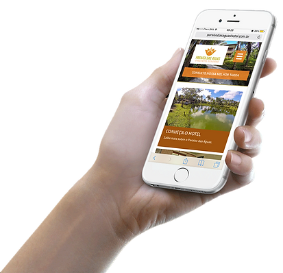 InfoWeb Mobile - Sites Responsivos e SEO para hotel